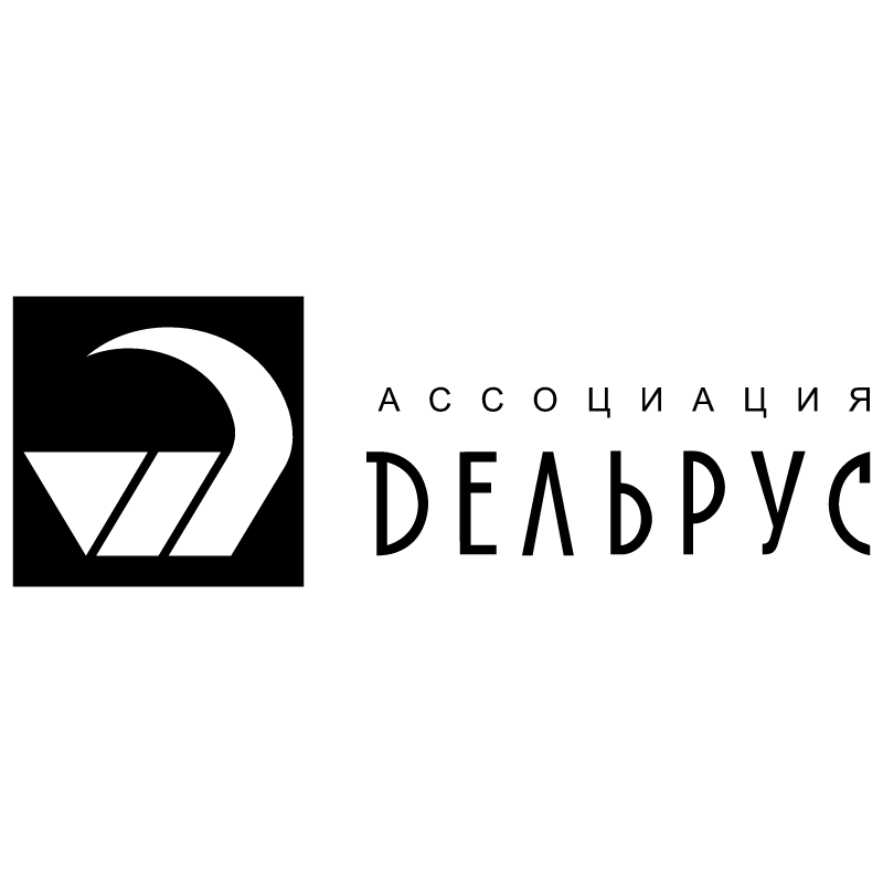 Delrus vector logo