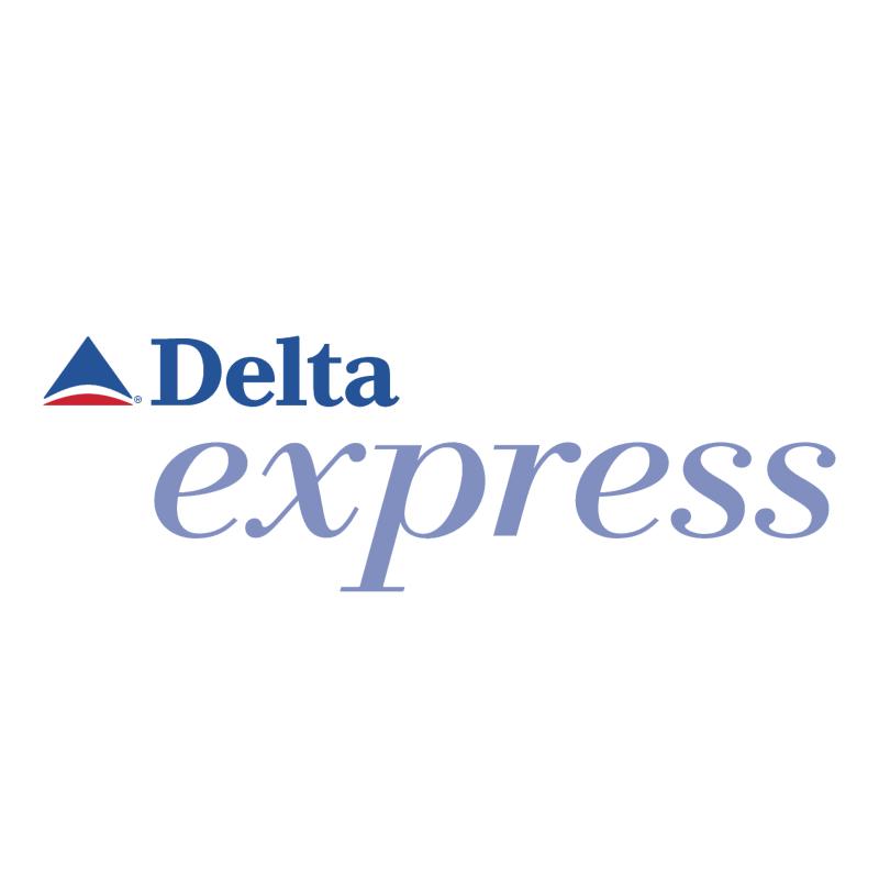 Delta Express vector logo
