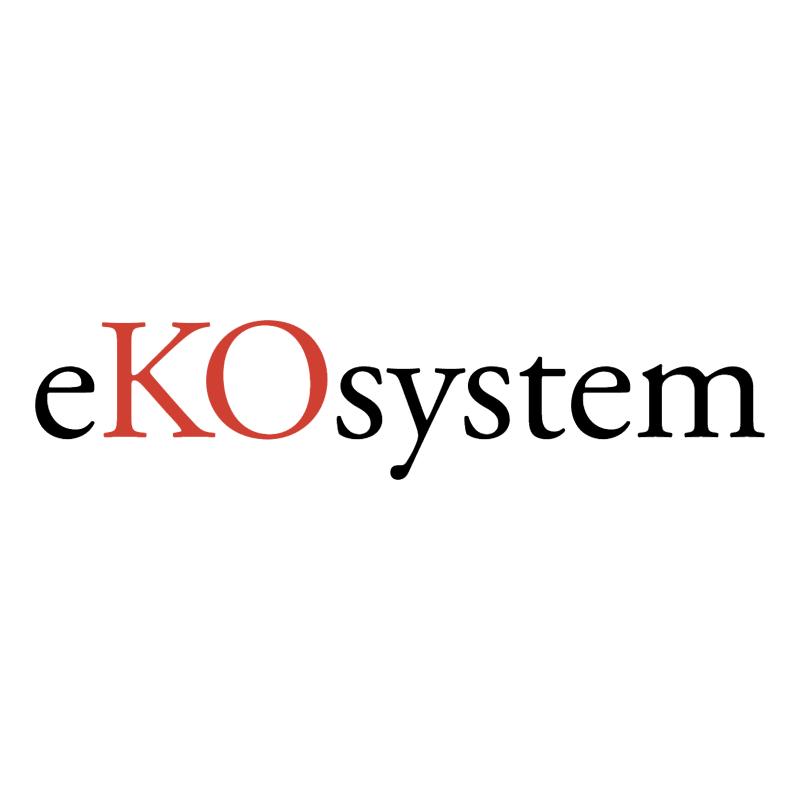 eKOsystem vector logo