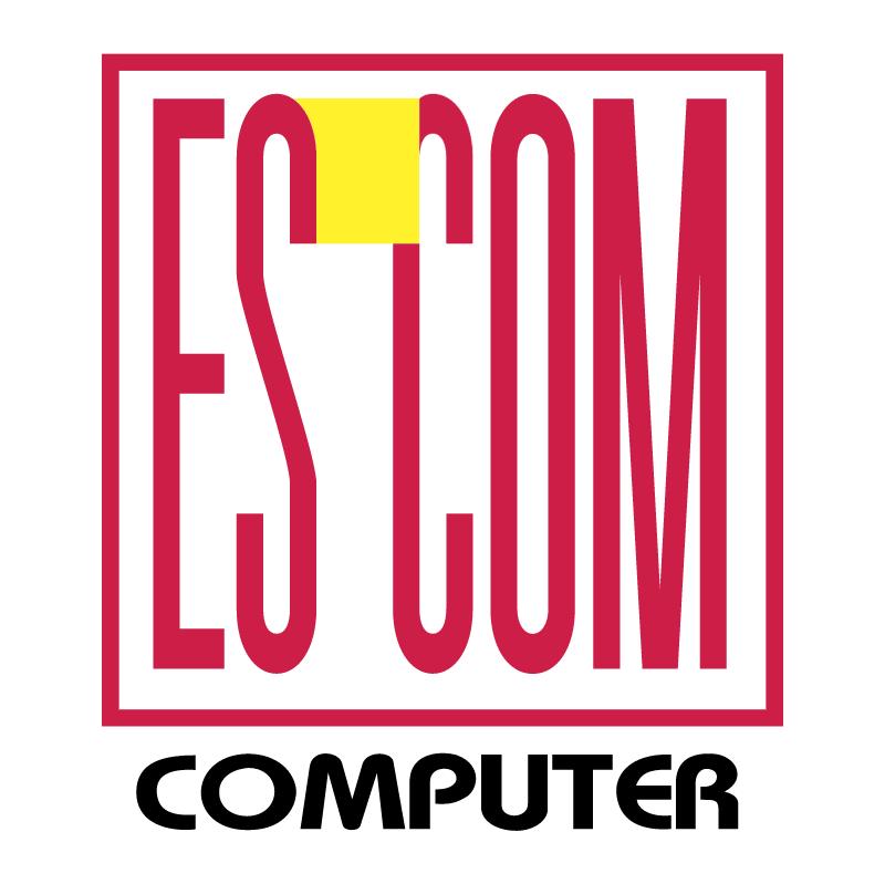 ES COM Computer vector