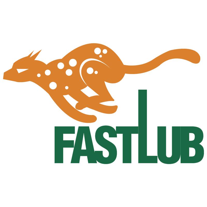 FastLub vector logo