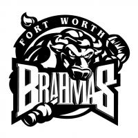 Fort Worth Brahmas vector