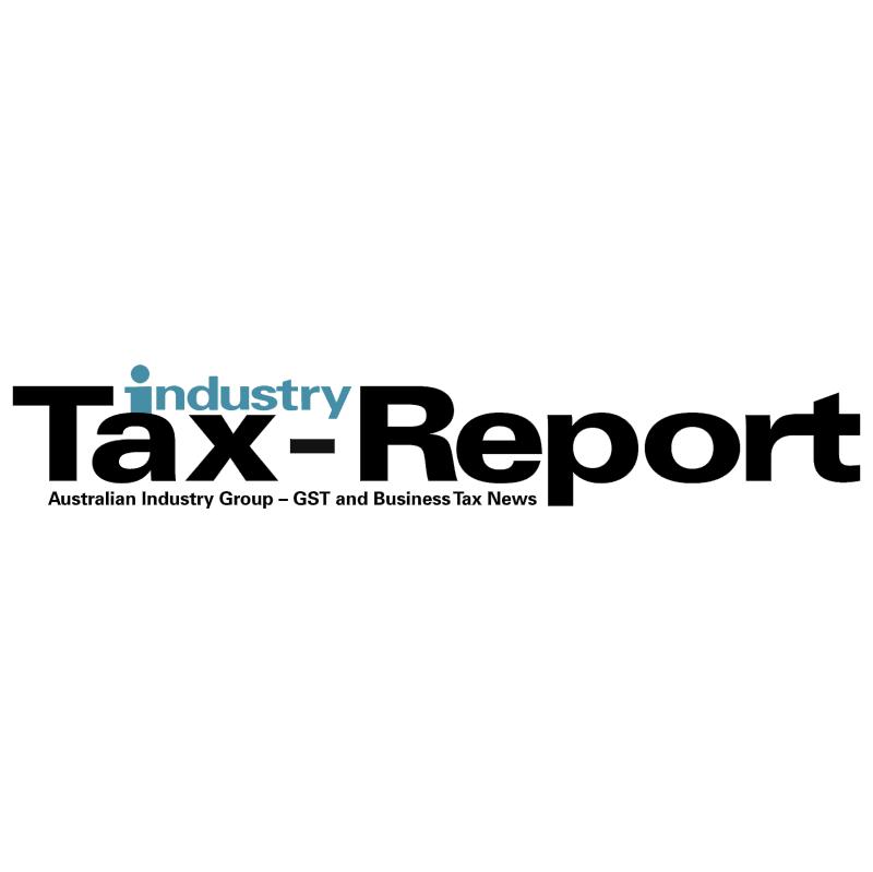 Industry Tax Report vector