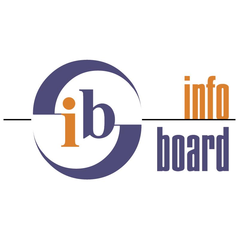Infoboard vector