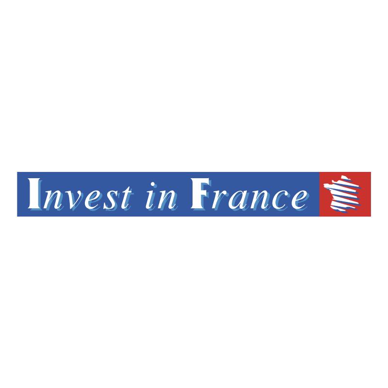 Invest in France vector logo