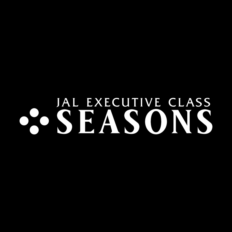 JAL Executive Class Seasons vector