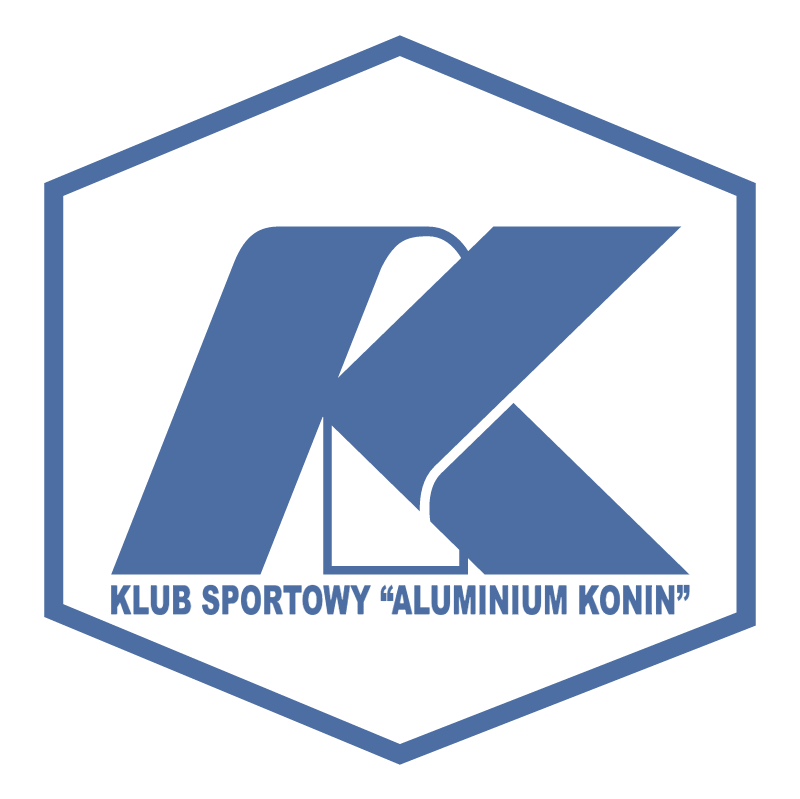KS Aluminium Konin vector