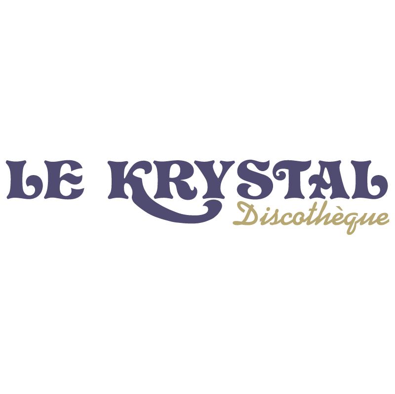Le Krystal vector