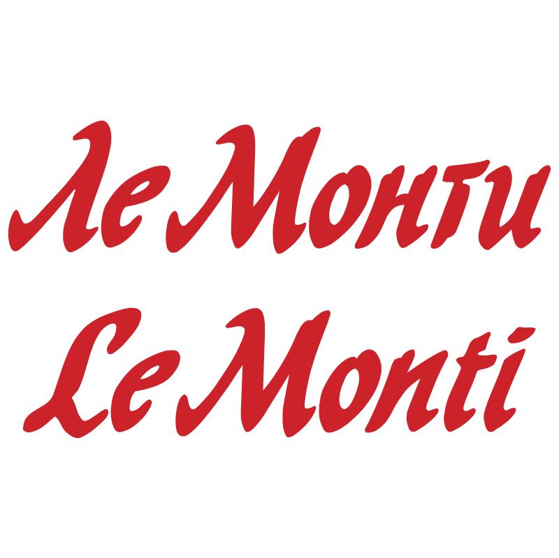 Le Monti vector