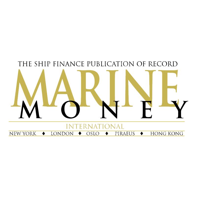 Marine Money vector