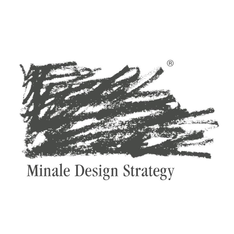 Minale Design Strategy vector logo