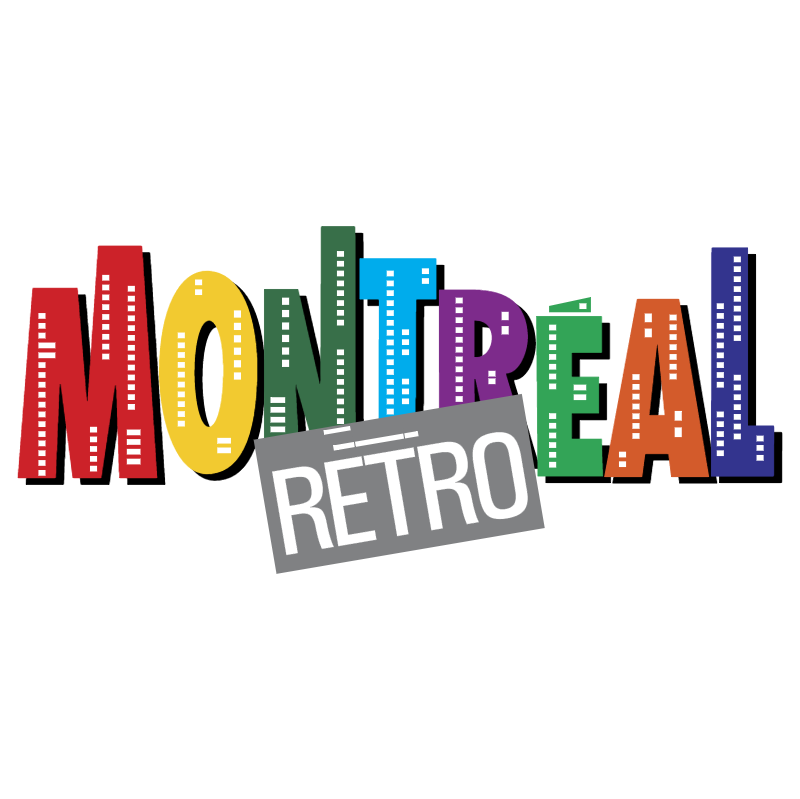 Montreal Retro vector