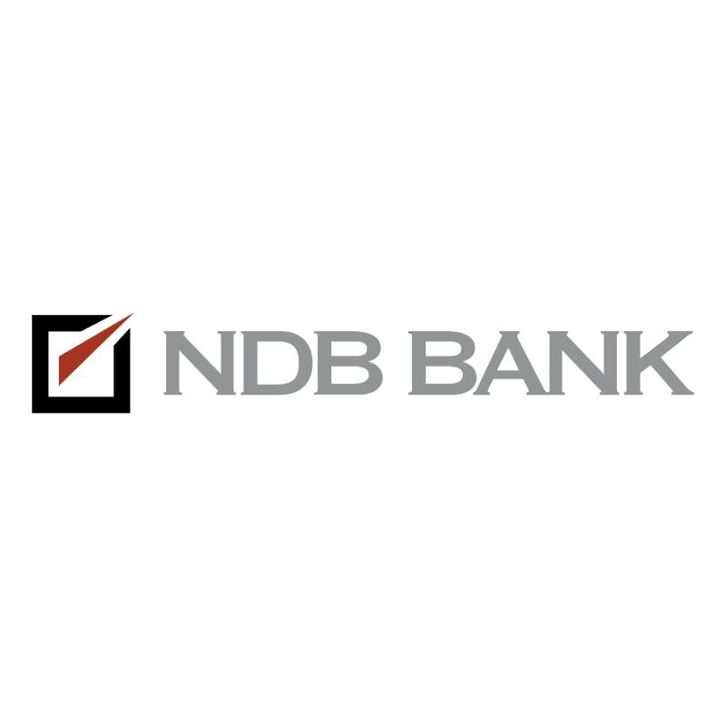 NDB Bank vector logo