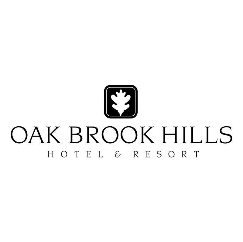 Oak Brook Hills vector