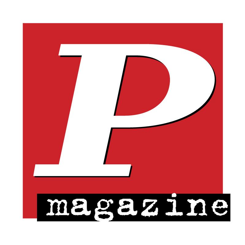P Magazine vector