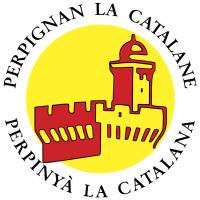 Perpignan La Catalane vector