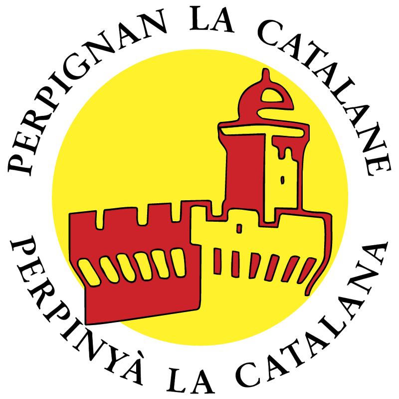 Perpignan La Catalane vector logo