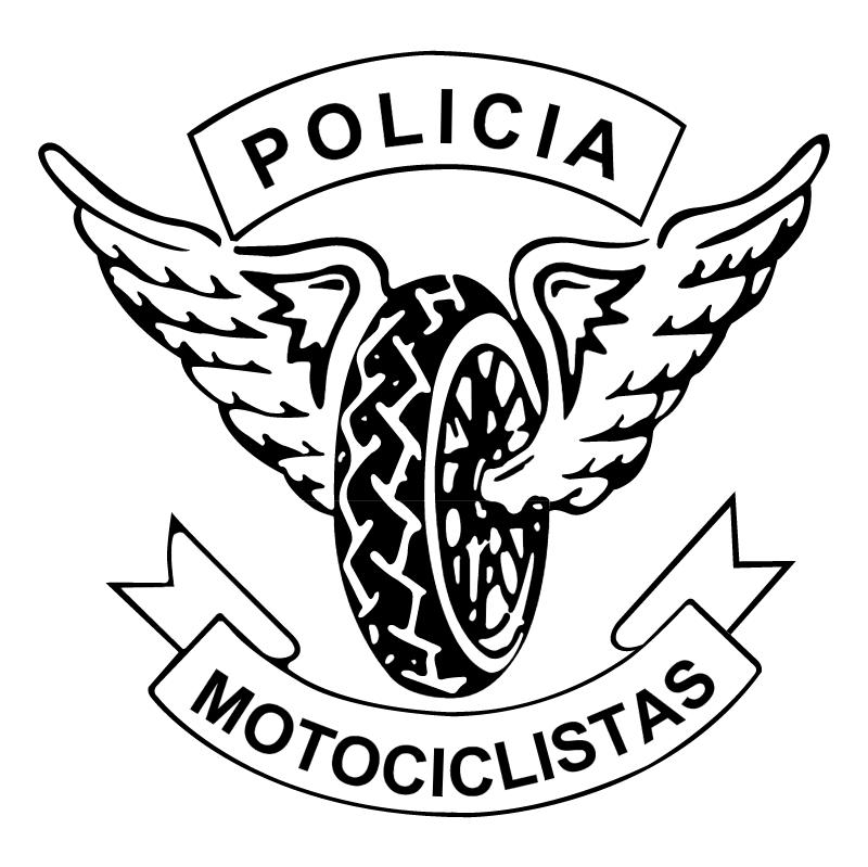 Policia Motociclistas vector