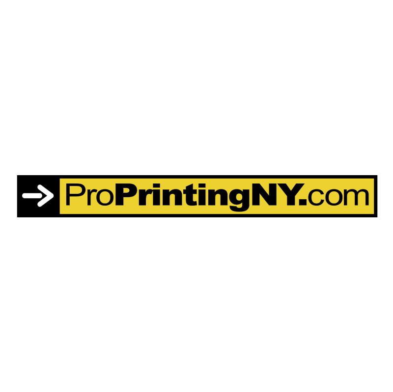ProPrintingNY com vector