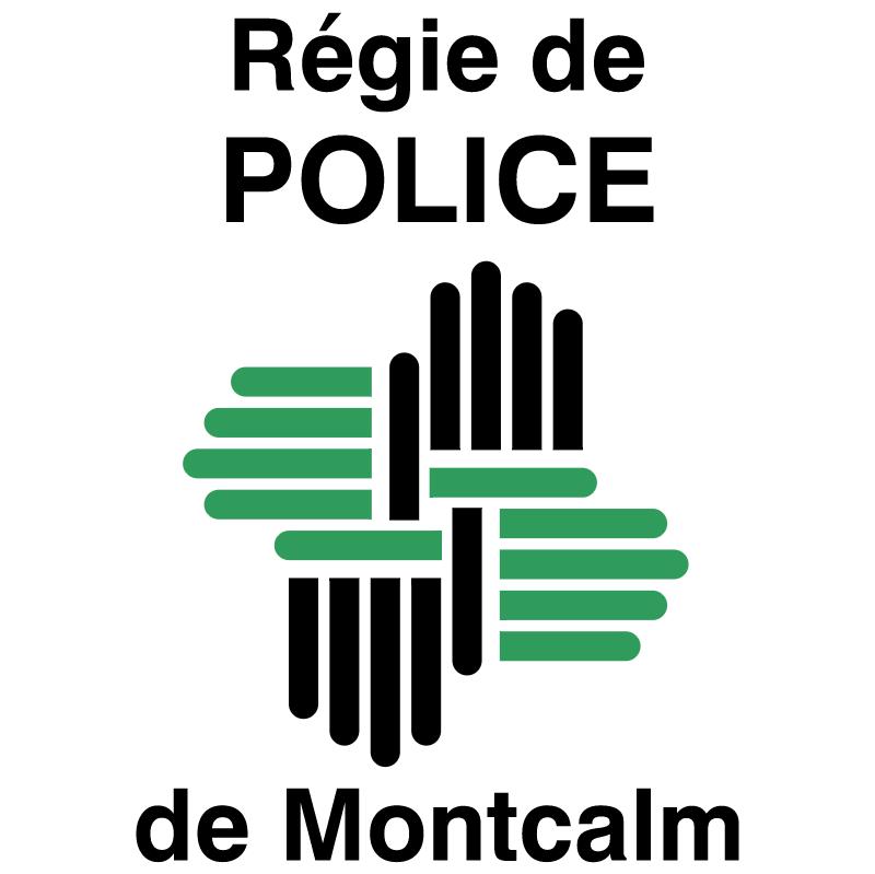 Regie de Police de Montcalm vector