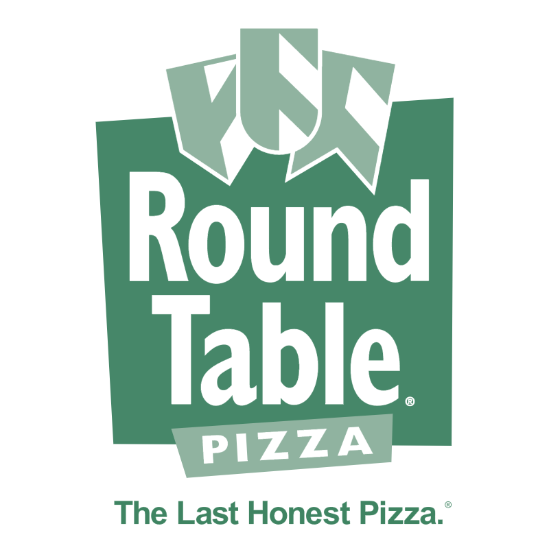Round Table Pizza vector logo