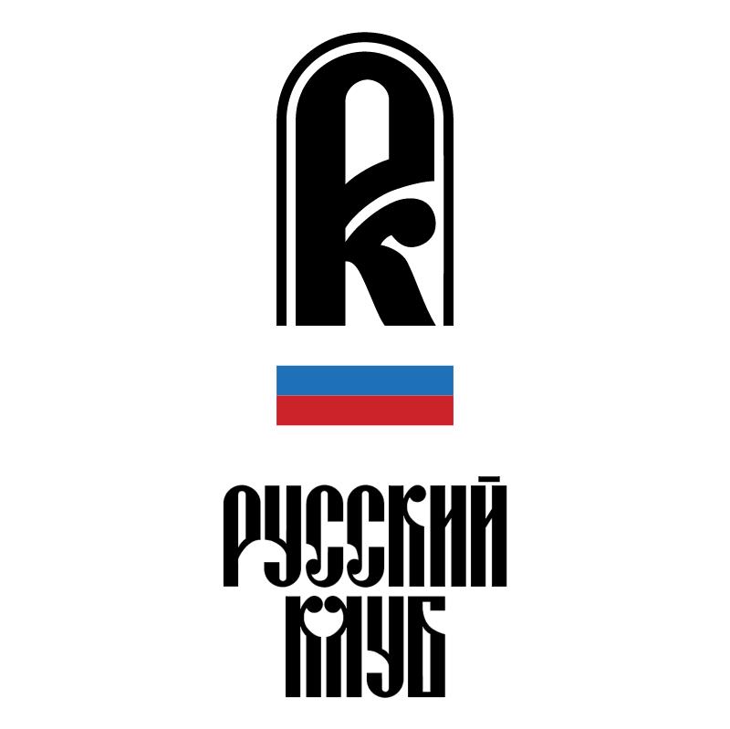Russian Club vector logo