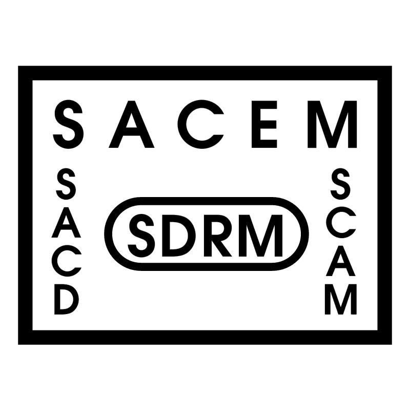 SACEM SDRM SACD SCAM vector