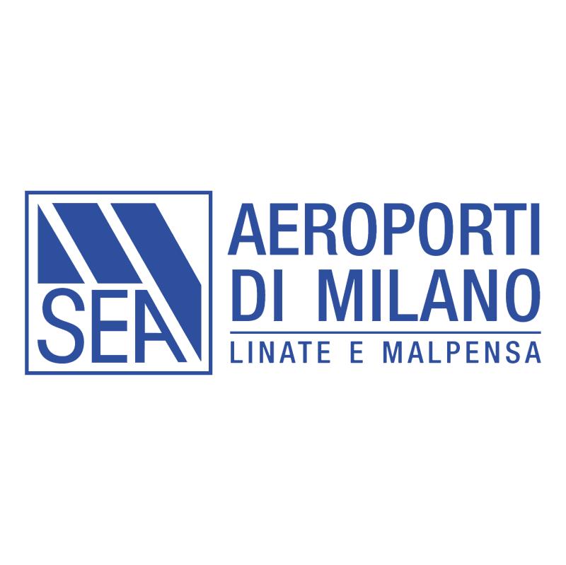 SEA Aeroporti di MIlano vector