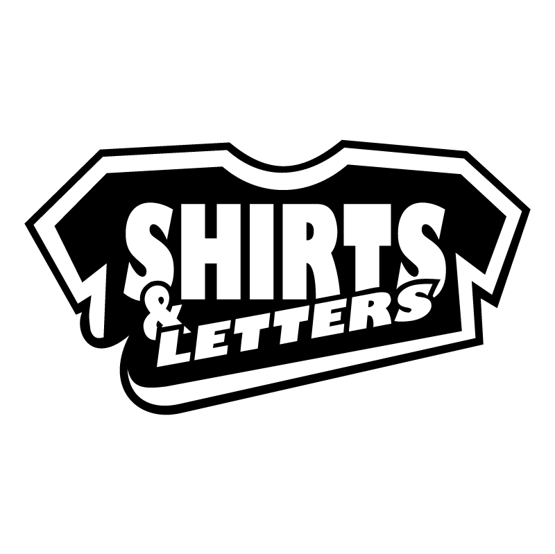 Shirts & Letters vector