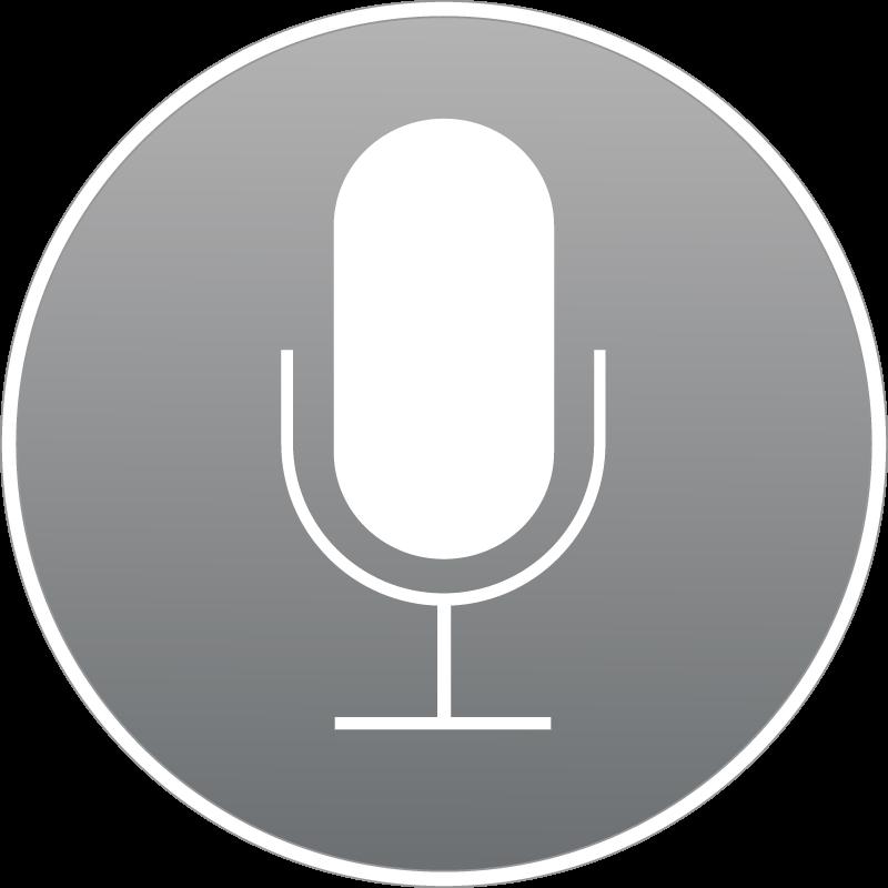 Siri Apple vector