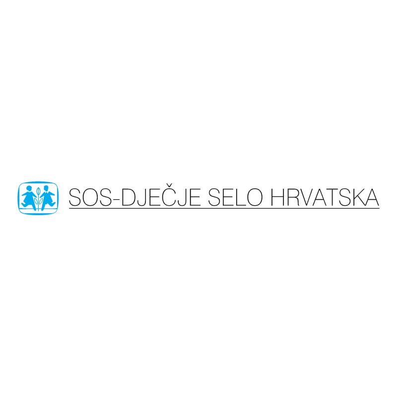 SOS Djecje selo Hrvatska vector