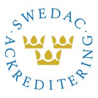 Swedac ackreditering vector