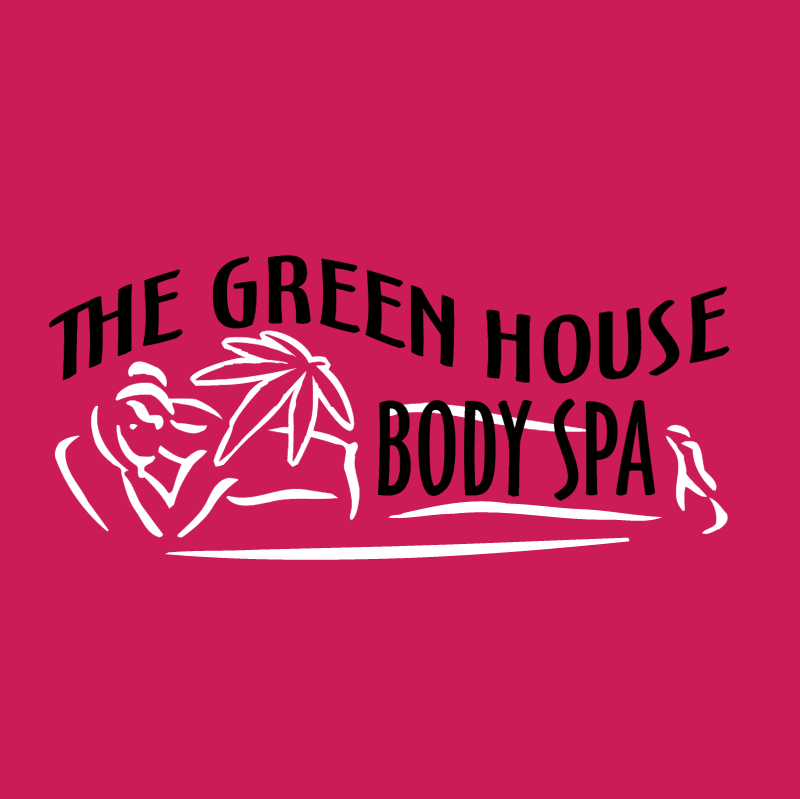 The Green House Body Spa vector