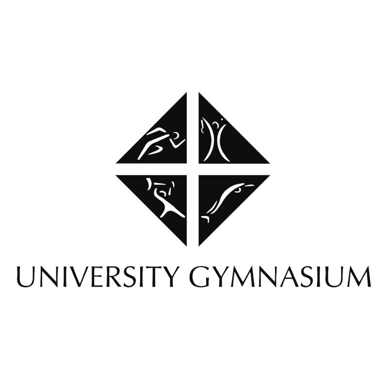 University Gymnasium vector