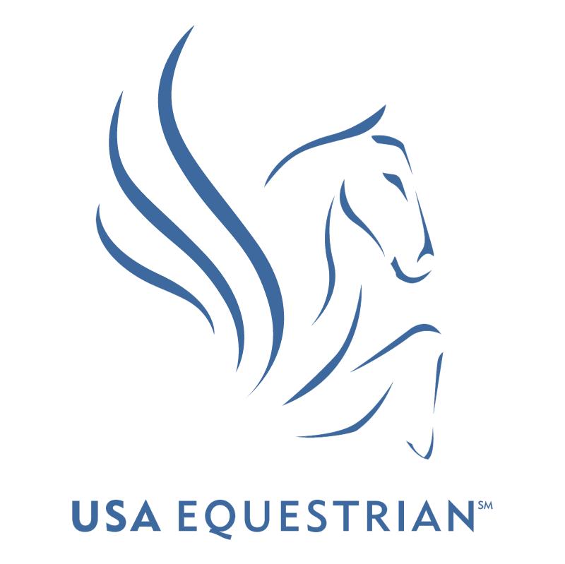 USA Equestrian vector