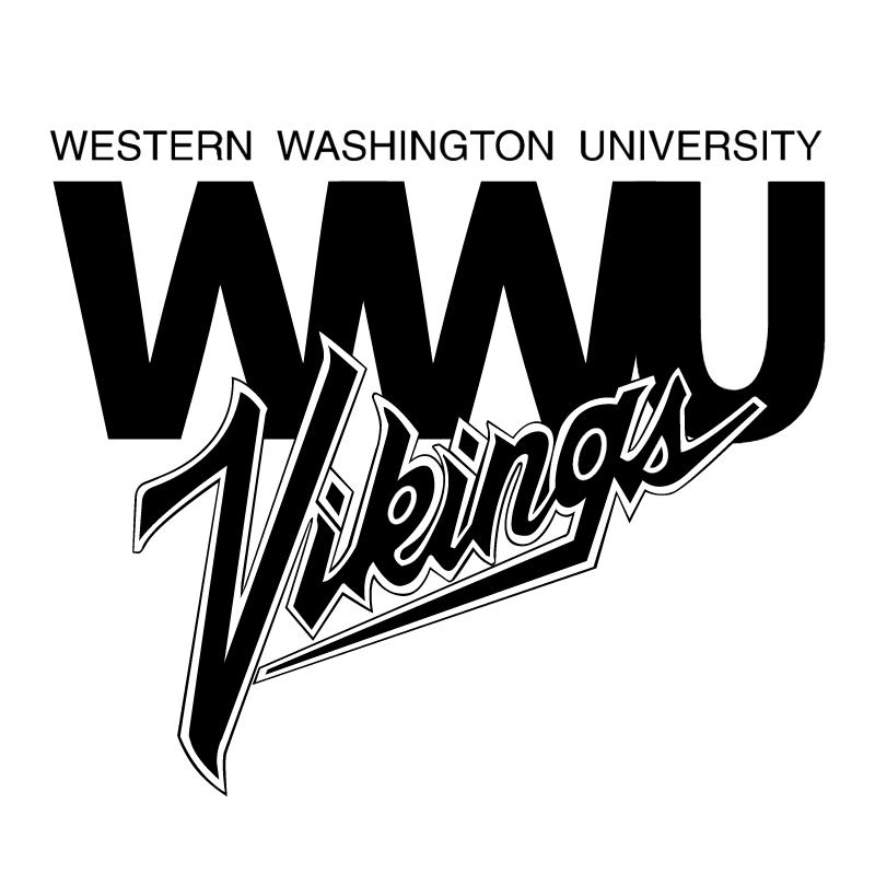WWU Vikings vector