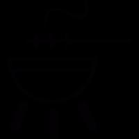 Barbecue and brochette vector