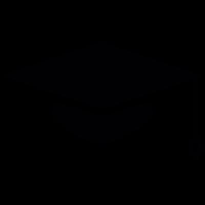 Graduation gat vector logo
