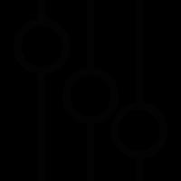 Audio mixer controls vector