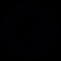 Euro symbol Badge vector