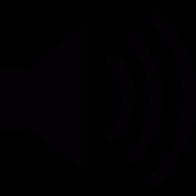 Volume level vector logo