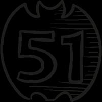 51 On Draw Logo vector