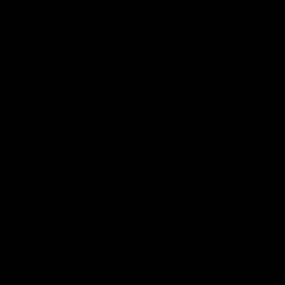 Battery Warning vector logo