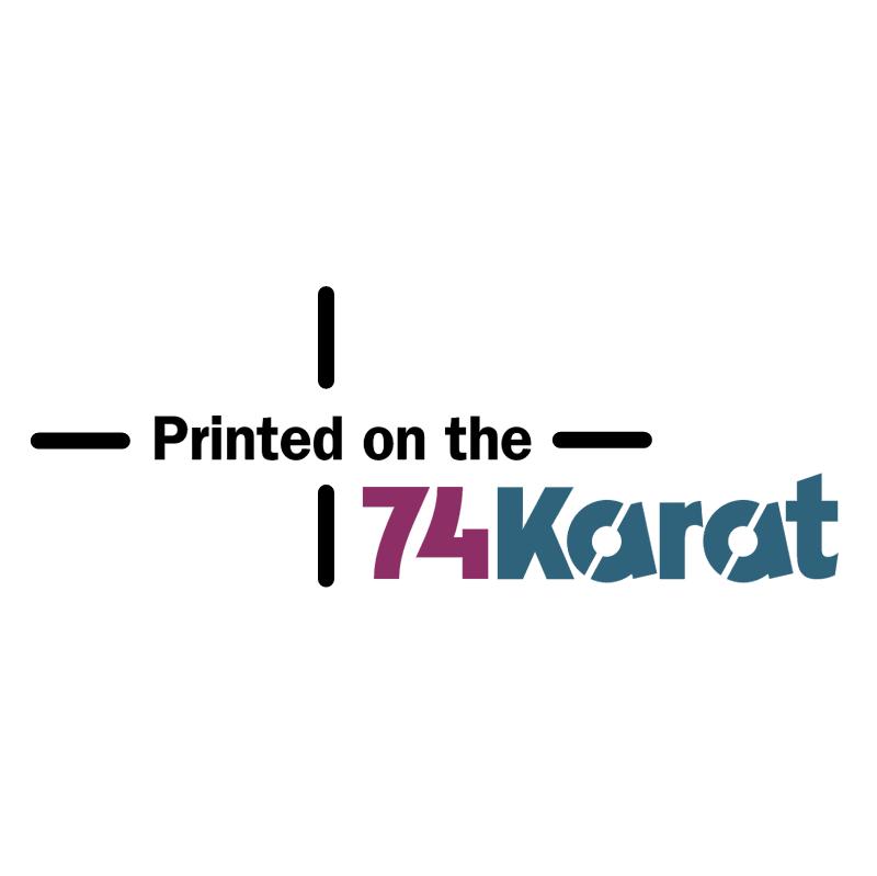74 Karat vector