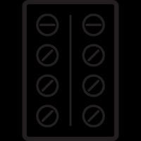 Drug Tablets vector