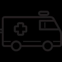 Ambulance Facing Right vector