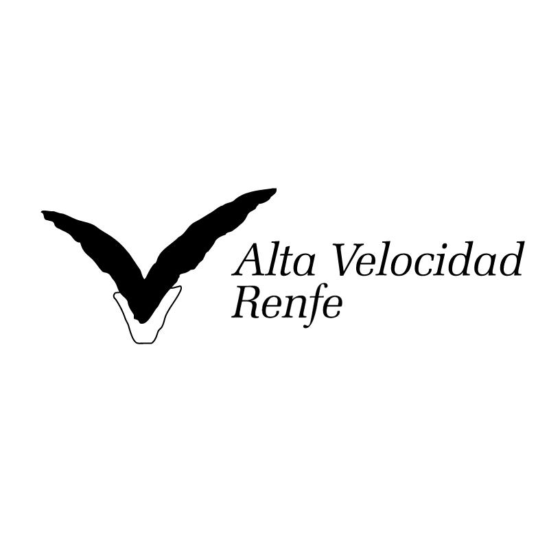 Alta Velocidad Renfe 83611 vector logo