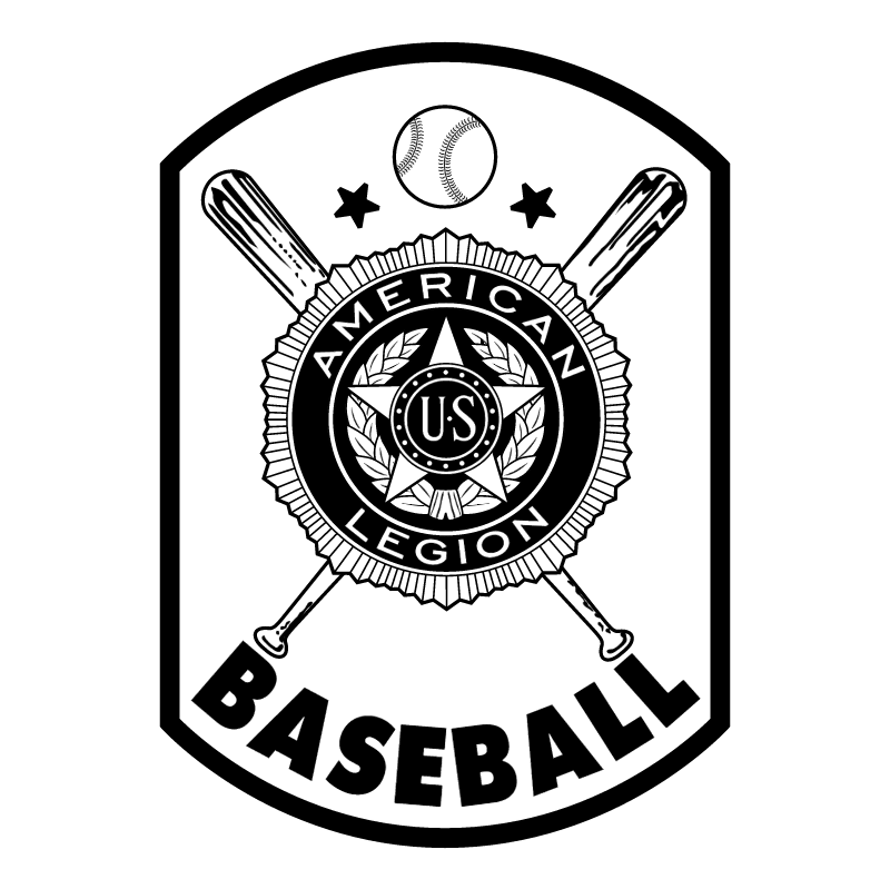 American Legion Baseball vector