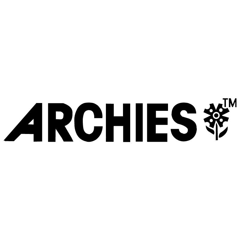 Archies 18797 vector logo