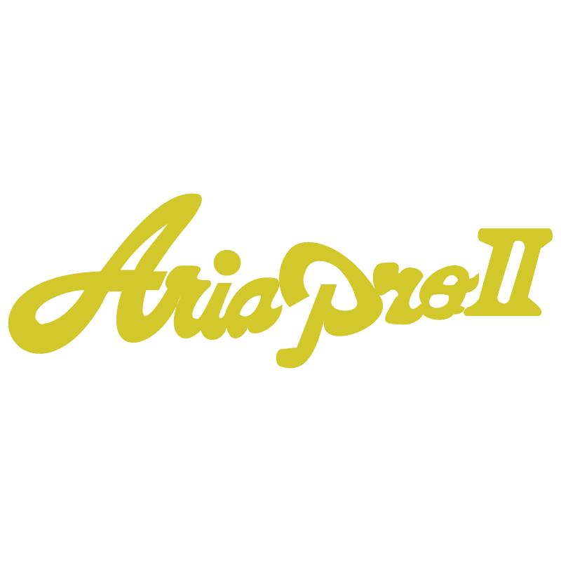 Aria Pro II vector